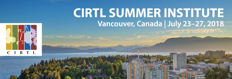 2018 CIRTL Summer Institute
